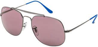 Ray-Ban Unisex Rb3561 57Mm Polarized Sunglasses