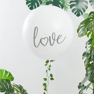 "Ginger Ray Botanical Shower 36"" Love Balloon Garland Kit"