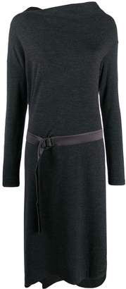 Brunello Cucinelli belted sweater dress