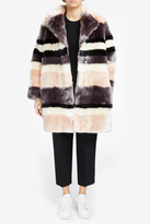 Paul & Joe Camomille Faux Fur Coat