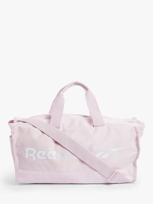 Reebok Training Essentials Small Grip Duffle Bag, Pixel Pink