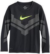 Nike Boys 4-7 Reflective Mesh Dri-FIT Tee