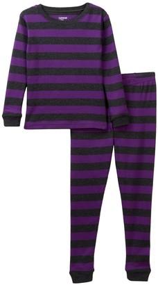 Leveret Two-Piece Pajama Set (Toddler, Little Girls, & Big Girls)