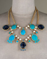 Two-Row Multi-Stone Necklace