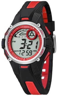 Calypso Unisex Digital Watch with LCD Dial Digital Display and Multicolour Plastic Strap K5558/5
