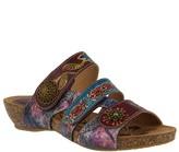 Spring Step L'Artiste by Leather Slide Sandals- Jamila