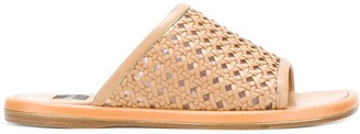 Rodo Woven Flat Sandals