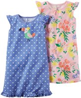 Carter's 2 Pack Gowns (Toddler/Kid) - Purple - 6-7