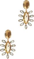 Bounkit Gold & Crystal Drop Earring