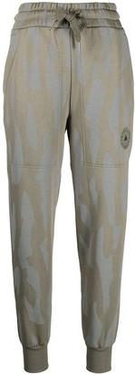 adidas by Stella McCartney Camouflage-Print Track Pants