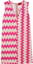 Missoni Crochet-knit Mini Dress - Fuchsia