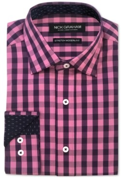 Nick Graham Men's Gingham Shirt