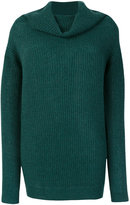 Roberto Collina draped neck jumper