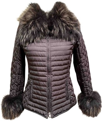 Moncler Grenoble Brown Coat for Women