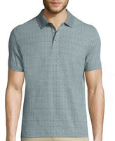 Claiborne Short-Sleeve Stretch Polo