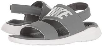 Nike Tanjun Sandal (Black/Black/White) Women's Shoes