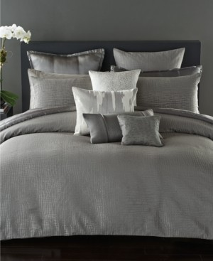 Donna Karan Closeout! Surface Silk Quilted Standard Sham Bedding
