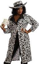 Rubie's Costume Co Lady Pimp 70s Zebra Suit Size Halloween Costume