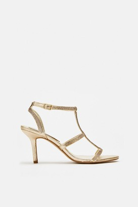 Coast Diamante Strappy Sandals