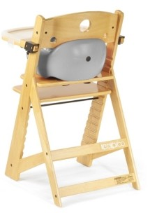 Keekaroo Height Right High Chair Natural with Infant Insert and Tray