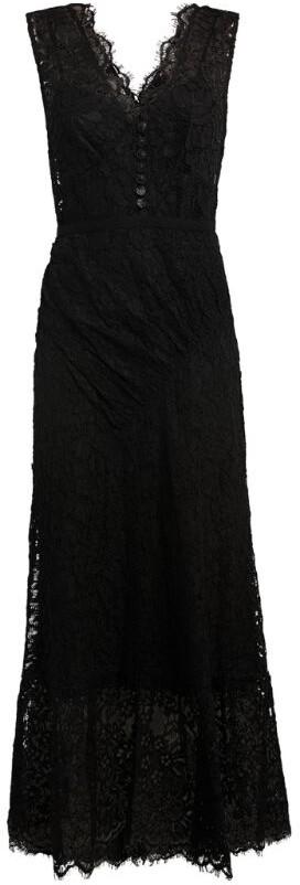 Self-Portrait Embellished Lace Sleeveless Midi Dress