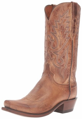 Lucchese Bootmaker Men's Lewis Mad Dog Goat Riding Boot
