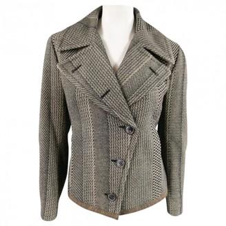 Dries Van Noten Beige Wool Jackets