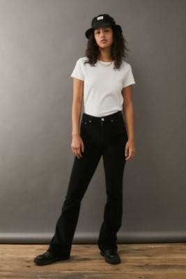 BDG Corduroy Flare Jeans - Black 27 at Urban Outfitters