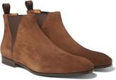 Santoni - Suede Chelsea Boots