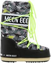 Moon Boot Dinosaur Printed Nylon Snow Boots