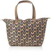 Orla Kiely Womens Printed Zip Shopper Shoulder Handbag,14.5 x 31 x 32.5 cm (W x H x L)