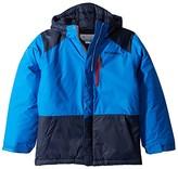 Columbia Kids Lightning Lifttm Jacket (Little Kids/Big Kids) (Super Blue/Collegiate Navy/Beet) Boy's Jacket