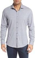 Stone Rose Men's Big & Tall Print Knit Sport Shirt