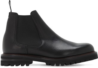 Church's Cornwood Grained Leather Chelsea Boots