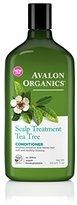 Avalon Conditioner, Scalp Treatment Tea Tree, 11 Ounce
