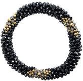 Meredith Frederick 14k Gold, Spinel and Labradorite Bead Bracelet