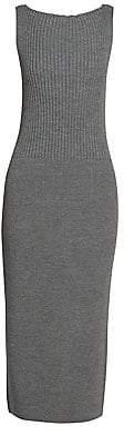 Dries Van Noten Women's Sleeveless Knit Midi Dress