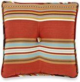 HiEnd Accents Calhoun Striped Tufted Pillow