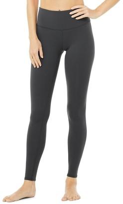 Alo Yoga High-Waist Airbrush Legging Anthracite Large