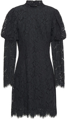 Ganni Corded Lace Mini Dress