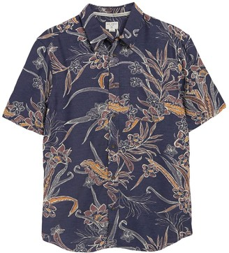 Jack O'neill Hawaiian Trade Winds Short Sleeve Sports Shirt