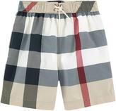 Burberry Nova check print surfer shorts