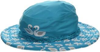 Playshoes Girl's UV-Schutz Sonnenhut Schwane Hat