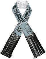 Astrid Andersen printed logo shawl