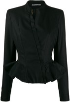 aganovich slim-fit peplum jacket