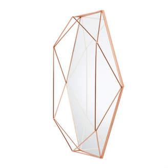 England At Home - Geometric Copper Wire Mirror - Copper
