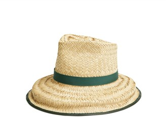 Tory Burch Structured Basket-Weave Hat