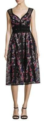 Nanette Lepore Michelle Embroidered Dress