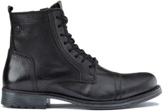 Jack and Jones Jfwrussel Lace-Up Ankle Boots