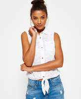 Superdry Shiffley Lace Sleeveless Shirt